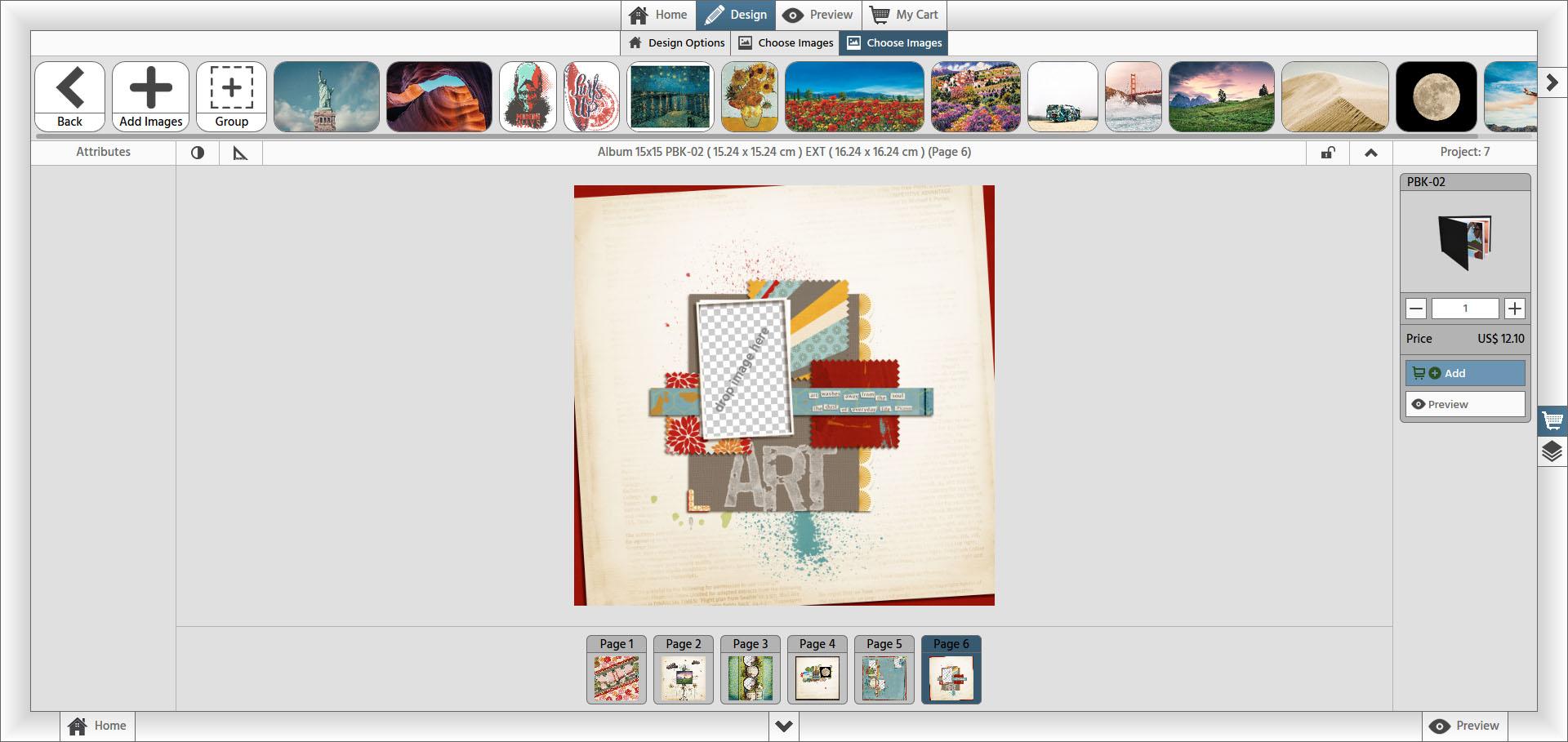 online designer artteck software