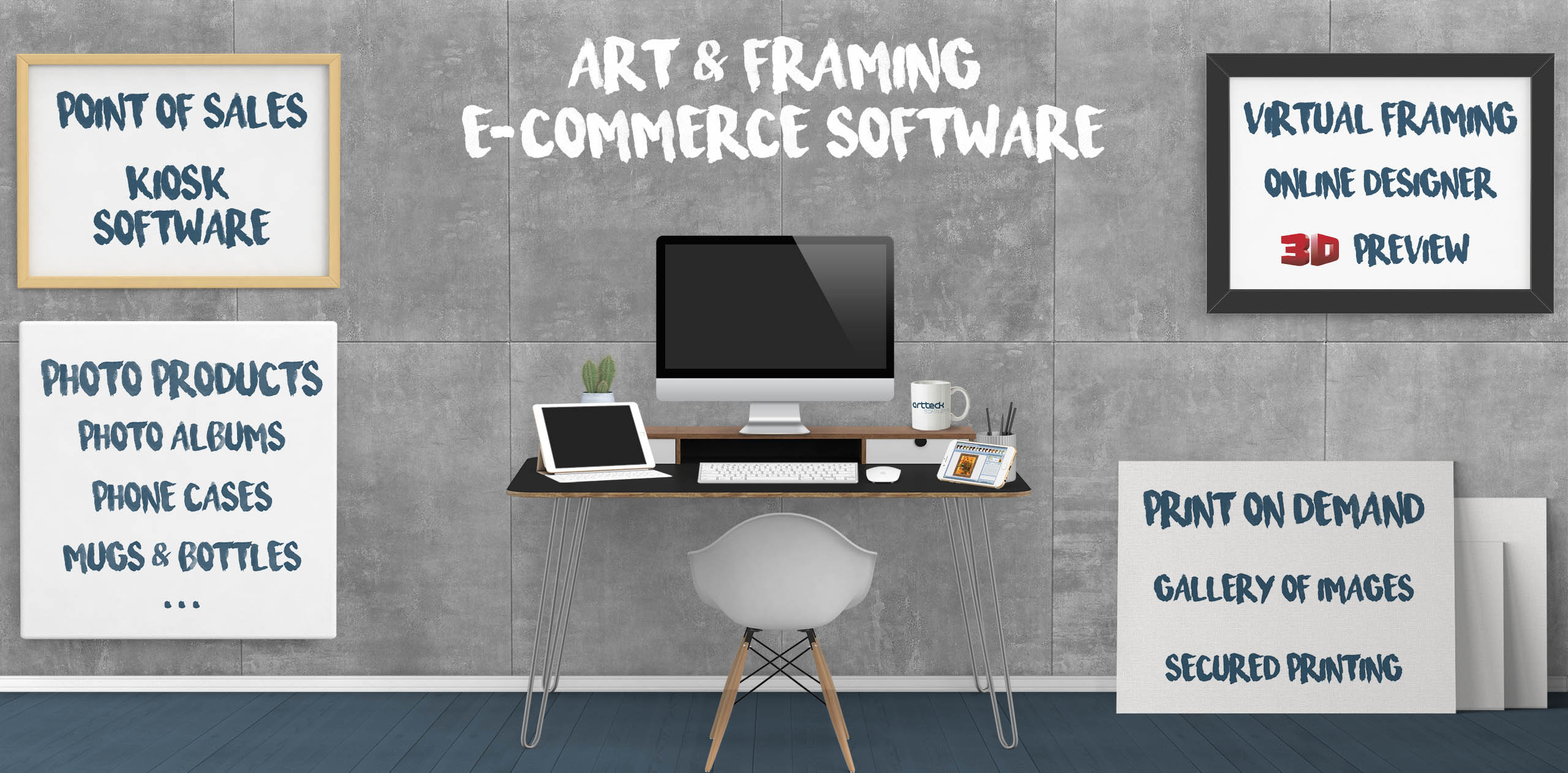 Art & Framing e-Commerce Software